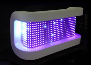 led deejay booth dmx