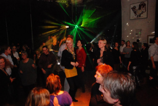 40 plus disco party met dj in Zwolle